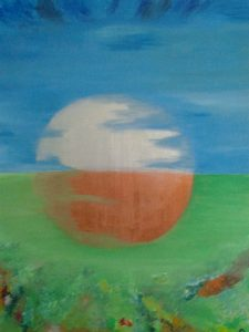 Sfera, 2015, Acrylic on canvas